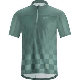 GORE WEAR C3 Chess Koszulka rowerowa z zamkiem błyskawicznym Mężczyźni, nordic blue